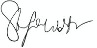 Stephanie Webster signature
